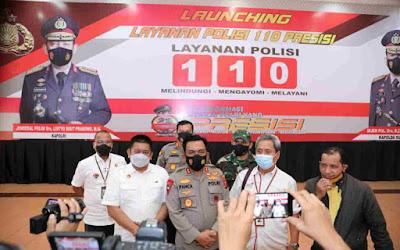 Call Center 110 Sudah Bisa Diakses Masyarakat, Poldasu: Laporan Palsu Akan Dihukum