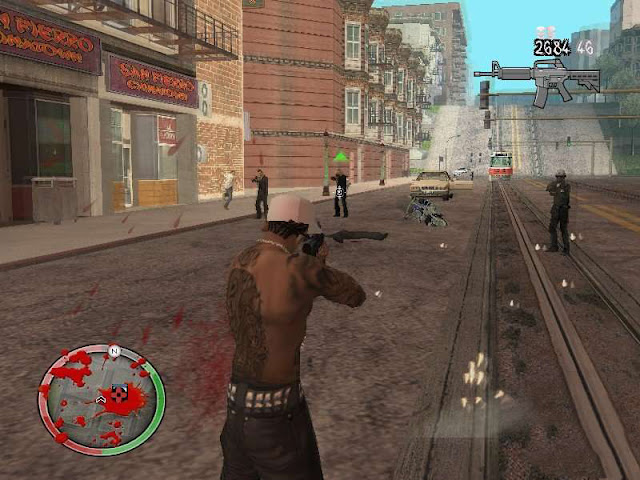 GTA IV HUD Final For GTA San Andreas Mod
