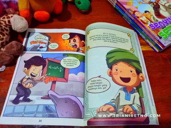 Komik Anak Muslim, Belajar Mengenal Hadis Rasulullah