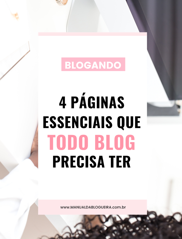 páginas essenciais que todo blog precisa ter