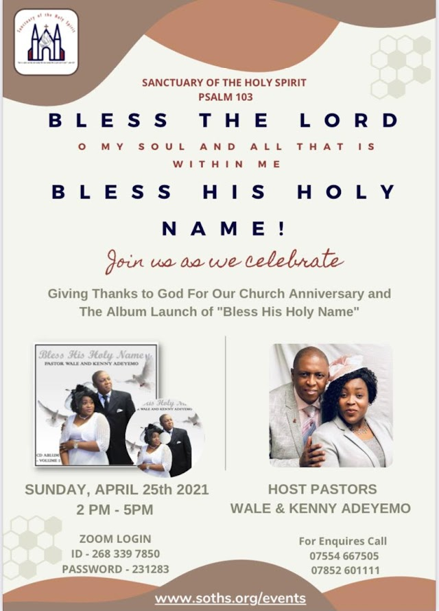 [Event & Album Launch] Sanctuary of the Holy Spirit Church in London celebrates her 6th anniversary