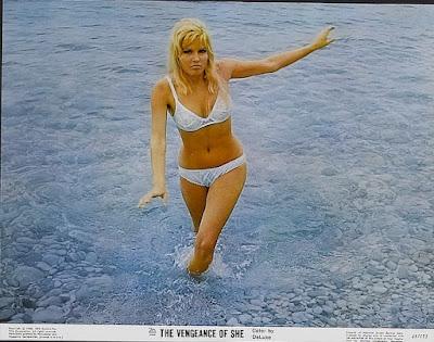The Vengeance of She, Lobby Card, Olinka Berova