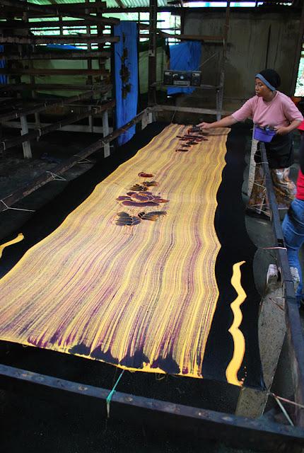 Batik Painting in Kelantan