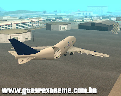 Boeing 747 LCF Dreamlifter para grand theft auto