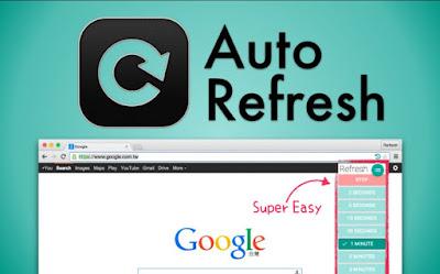 Memasang Auto Refresh Page di Blog dengan Mudah