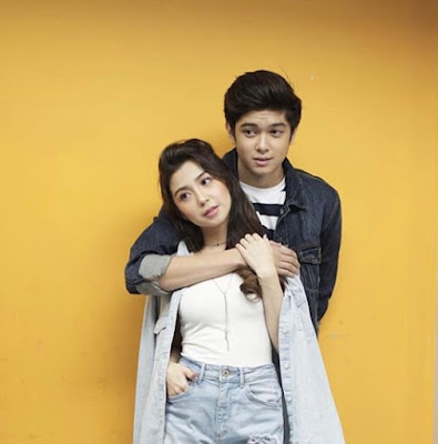 Donnalyn Bartolome with her brother