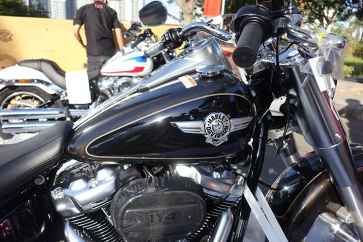 Harley-Davidson Fat Boy 2020 giá ngang Hyundai Tucson tại Việt Nam