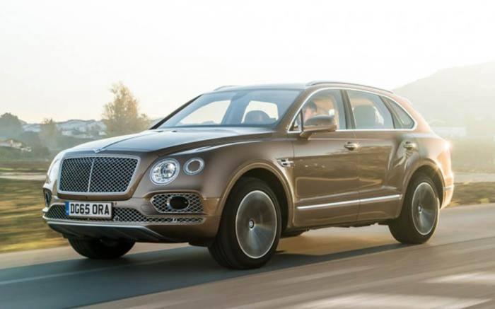 SUV Bentayga de Bentley