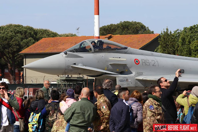 Behind the scenes of the Pisa Air Show 2019