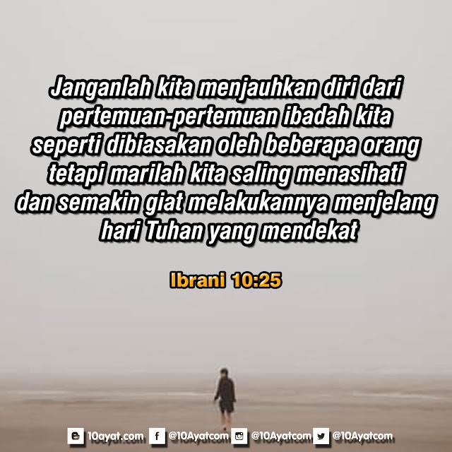 Ibrani 10:25