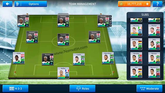 dream league soccer cara buat pemain