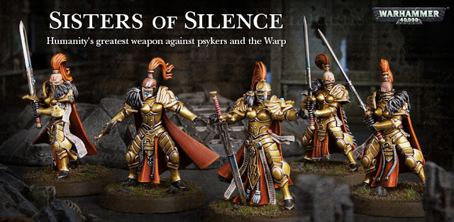 Games Workshop: New Talons of The Emperor - Sisters of Silence and Adeptus Custodes