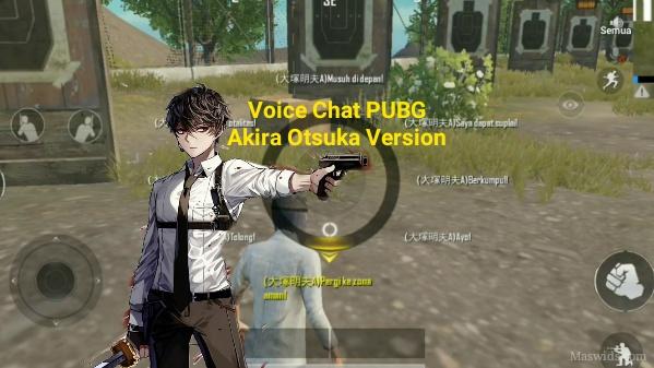 voice chat pubg akira otsuka