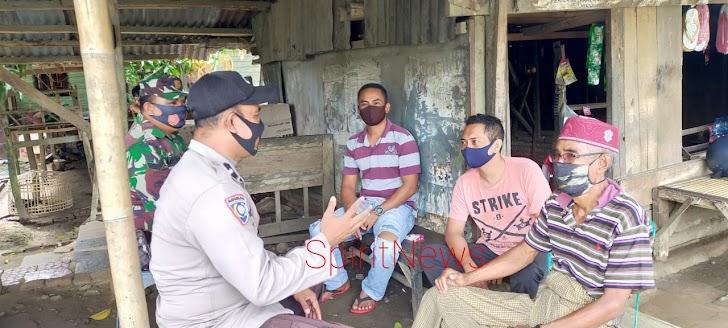 Sinergi TNI-Polri Edukasi Warga Taat Protokol Kesehatan