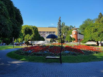 Centralni Vrnjački park, Topla voda, Vrnjačka Banja