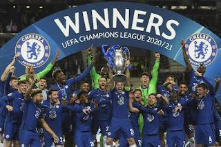 Chelsea Juara Liga Champions 2021, Thomas Tuchel dan Thiago Silva Tuntaskan Dendam, Ini Daftar Juara Terbanyak