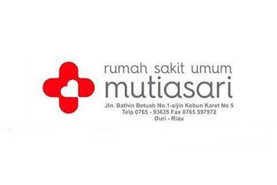 Lowongan RSU Mutia Sari Duri Oktober 2018