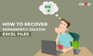 How to recover deleted excel file?