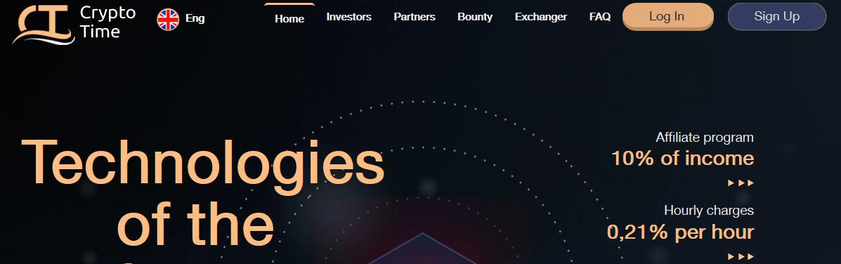 Мошеннический сайт cryptotime.biz – Отзывы, платит или лохотрон?