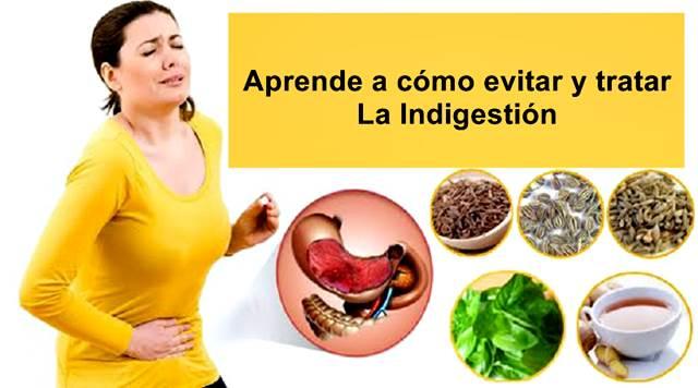 Remedios naturales que te ayudan a aliviar la indigestión