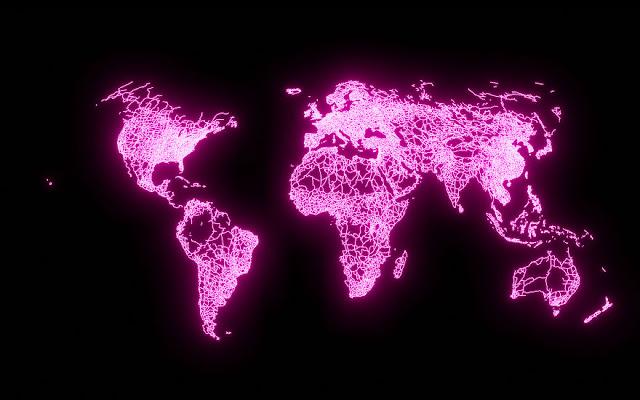 mapa infraestrutura