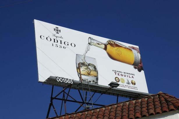 Tequila Codigo 1530 billboard