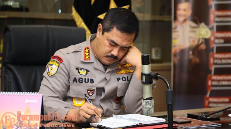 Kabaharkam Wakili Kapolri Ikut Rakor Pimpinan Menko PMK
