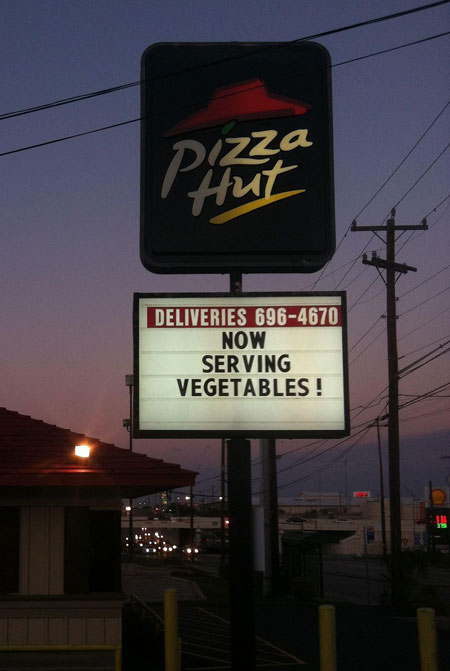 pizza hut youre doing it right