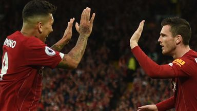 'That's VAR for you' - Robertson backs Firmino to end Anfield goal drought
