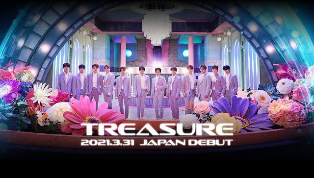 treasure debut japon 2021