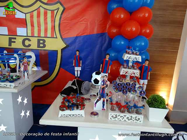 Festa Barcelona, mesa temática para aniversário infantil