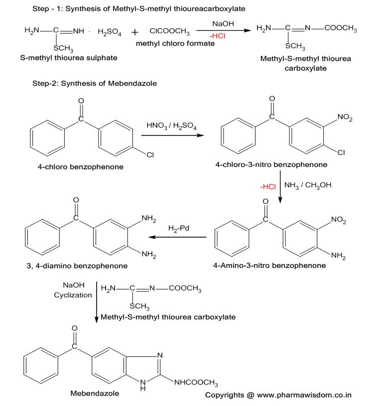Anthelmintic agents synthesis, Anthelmintic drugs drug ștefănuț (cernea) cristina