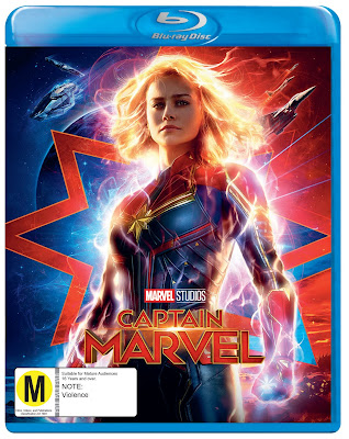 Captain Marvel on Blu Ray
