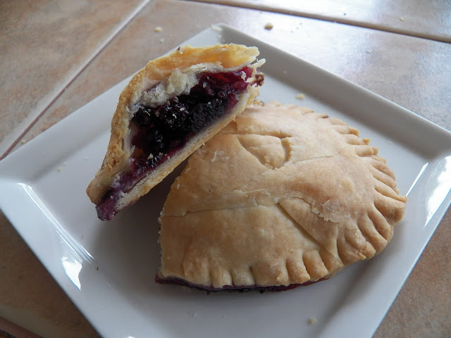 Bubbly Pies with Summer Berries