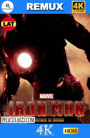 Iron Man, el Hombre de Hierro (2008) Ultra HD REMUX 4K HDR Dual-Latino VIP