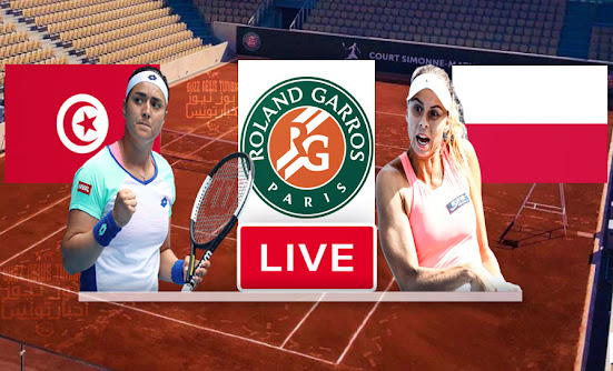 Match Tennis Ons Jabeur vs Magda Linette Live Stream In Roland Garros