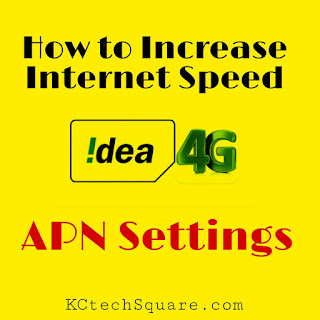 IDEA 4G Internet & APN Settings