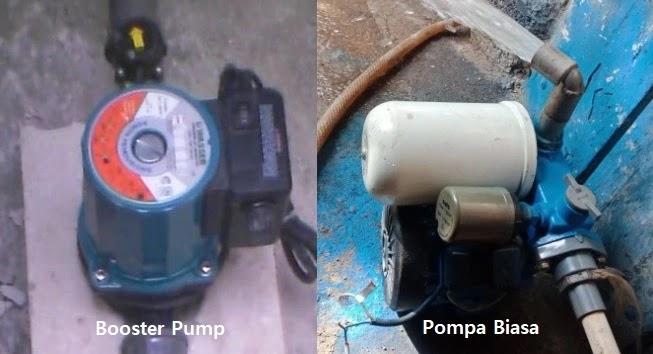 Beda Booster Pump dengan Pompa Biasa