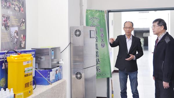 次氯酸水抗菌在農業上應用 明道大學研究取代農藥