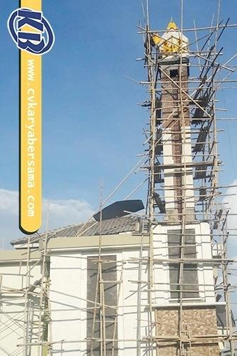 Kubah Menara Panel Moderen