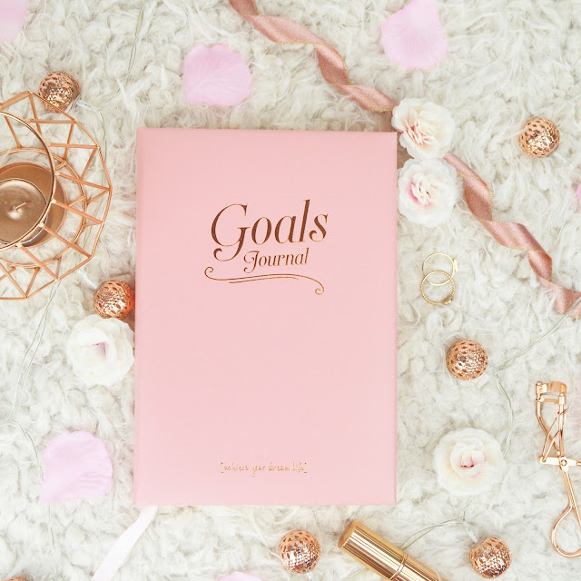 Find Me A Gift Christmas Gift Ideas For Her Pink Leather Goals Journal Inside Out Champagne Flutes Review Lovelaughslipstick Blog