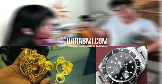Ketahuan Mencuri Harta Majikan Karena Dilaporkan Temannya, TKW Ini Dipenjara 53 Hari