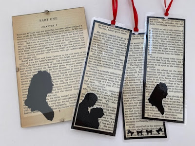 Recycled book crafts - Gone with the Wind