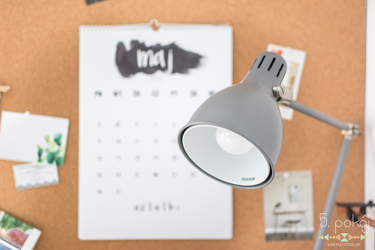 piąty pokój | kalendarz