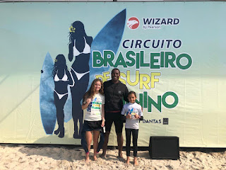 Natália Gerena conquistou prata na segunda etapa do Circuito Brasileiro de Surf