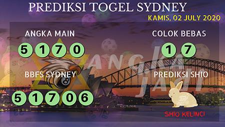 Prediksi Angka Jadi Sydney Kamis 02 Juli 2020