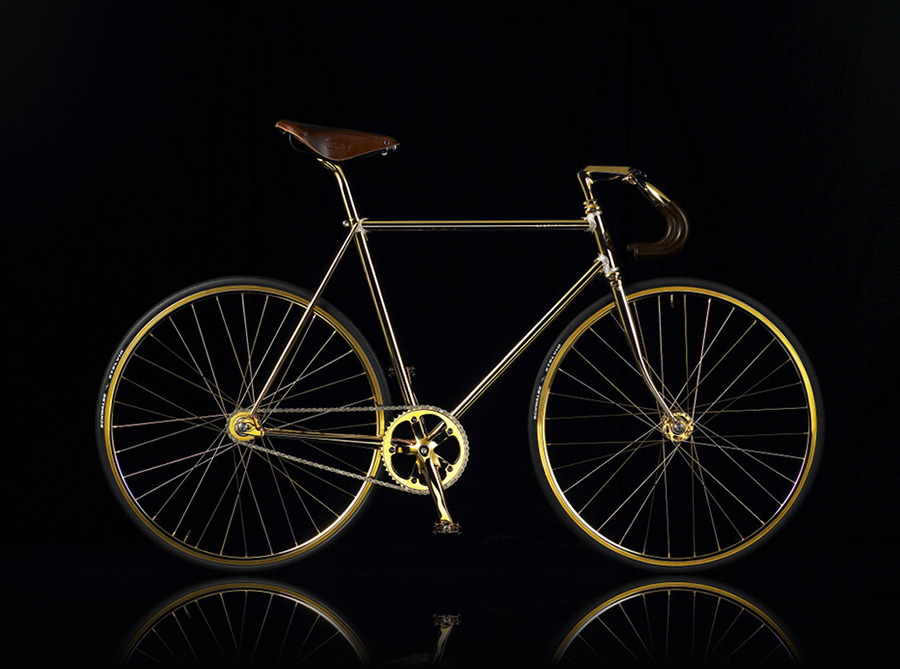 AURUMANIA-GOLD-BIKE-CRYSTAL-EDITION