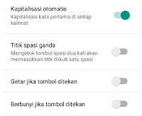Cara Menghilangkan Suara Keyboard Android