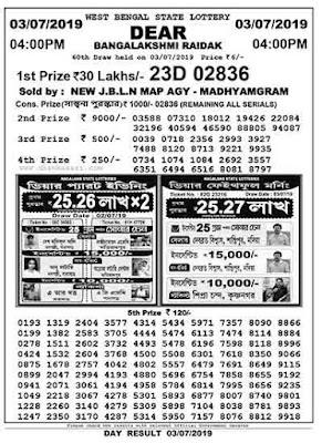 dhankesari 4pm lottery result, lottery sambad 4pm result,Lottery sambad, lottery sambad today result, west bengal state lottery. bengal lottery result