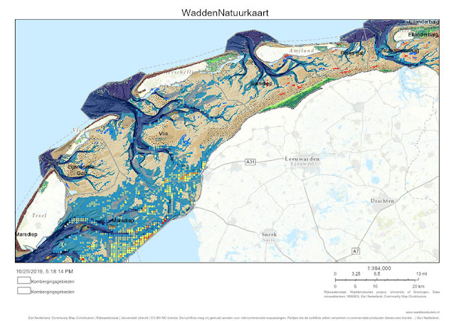 Wadden Sea UNESCO largest unbroken system of inter-tidal sand and mud flats